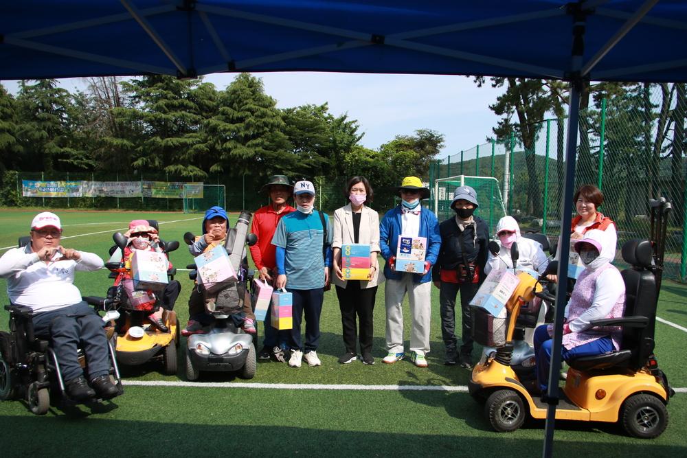 제6회 영도구장애인복지관장배 파크골프대회